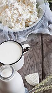 Hintergrundbilder Topfen Weißkäse Quark Hüttenkäse Milch Käse Weizen Spitze Bretter Lebensmittel
