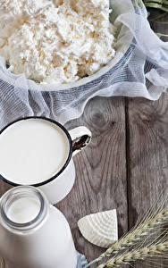 Hintergrundbilder Topfen Weißkäse Quark Hüttenkäse Milch Käse Weizen Ähre Bretter Lebensmittel