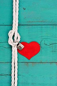 Papel de Parede Desktop Dia dos Namorados Tábuas de madeira Coração
