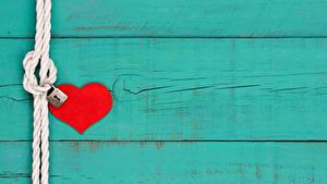 Fotos Valentinstag Bretter Herz