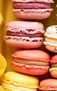 Hintergrundbilder Großansicht Kekse Macarons Lebensmittel