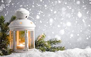 Bilder Winter Kerzen Laterne Ast Schnee Natur