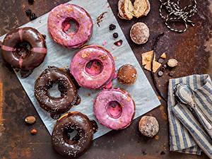 Fotos Backware Donut Schokolade Zuckerguss