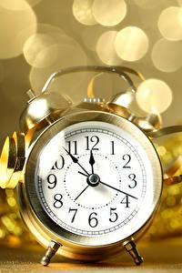 Sfondi desktop Capodanno Orologio Sveglia