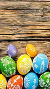 Bilder Ostern Feiertage Bretter Ei Design