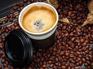 Hintergrundbilder Kaffee Cappuccino Bretter Tasse Getreide