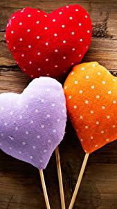 Bilder Valentinstag Bretter Herz Drei 3