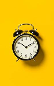 Images Alarm clock Clock Colored background