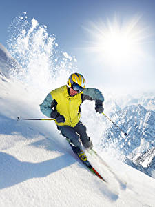 Hintergrundbilder Winter Skisport Mann Berg Schnee Brille Sport