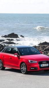 Photo Audi Red TFSI Sportback 2014 S line