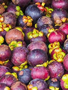 Hintergrundbilder Obst Viel Mangosteen