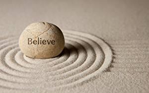 Bilder Steine Sand Kreise zen belive