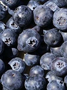 Pictures Berry Blueberries Closeup Many Food