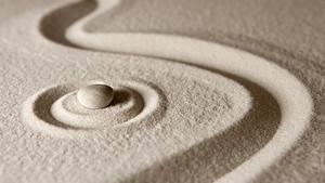 Hintergrundbilder Steine Sand Kreis zen