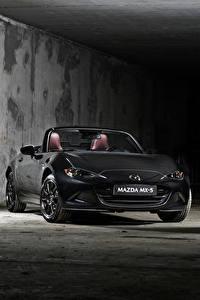 Hintergrundbilder Mazda Graues Cabriolet 2020 MX-5 Eunos Edition Autos