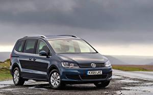 Images Volkswagen Blue 2015-19 Sharan