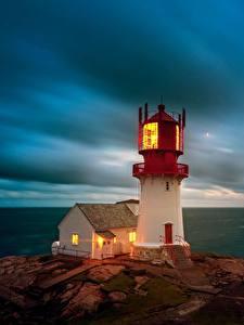 Fotos Meer Himmel Leuchtturm Norwegen Wolke Lindesnes Lighthouse, Skagerrak Strait