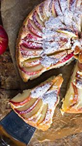 Hintergrundbilder Backware Obstkuchen Äpfel Stück