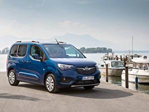 Bilder Opel Ein Van Blau Metallisch 2018-19 Combo Life