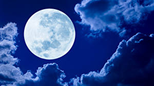 Fotos Himmel Wolke Mond