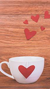 Hintergrundbilder Valentinstag Bretter Tasse Herz Lebensmittel