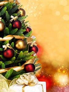 Fotos Neujahr Weihnachtsbaum Kugeln