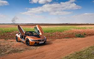 Fotos BMW Orange Cabrio Roadster 2018 i8