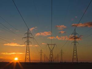 Hintergrundbilder Sonnenaufgänge und Sonnenuntergänge Himmel Wolke Sonne Stromleitung