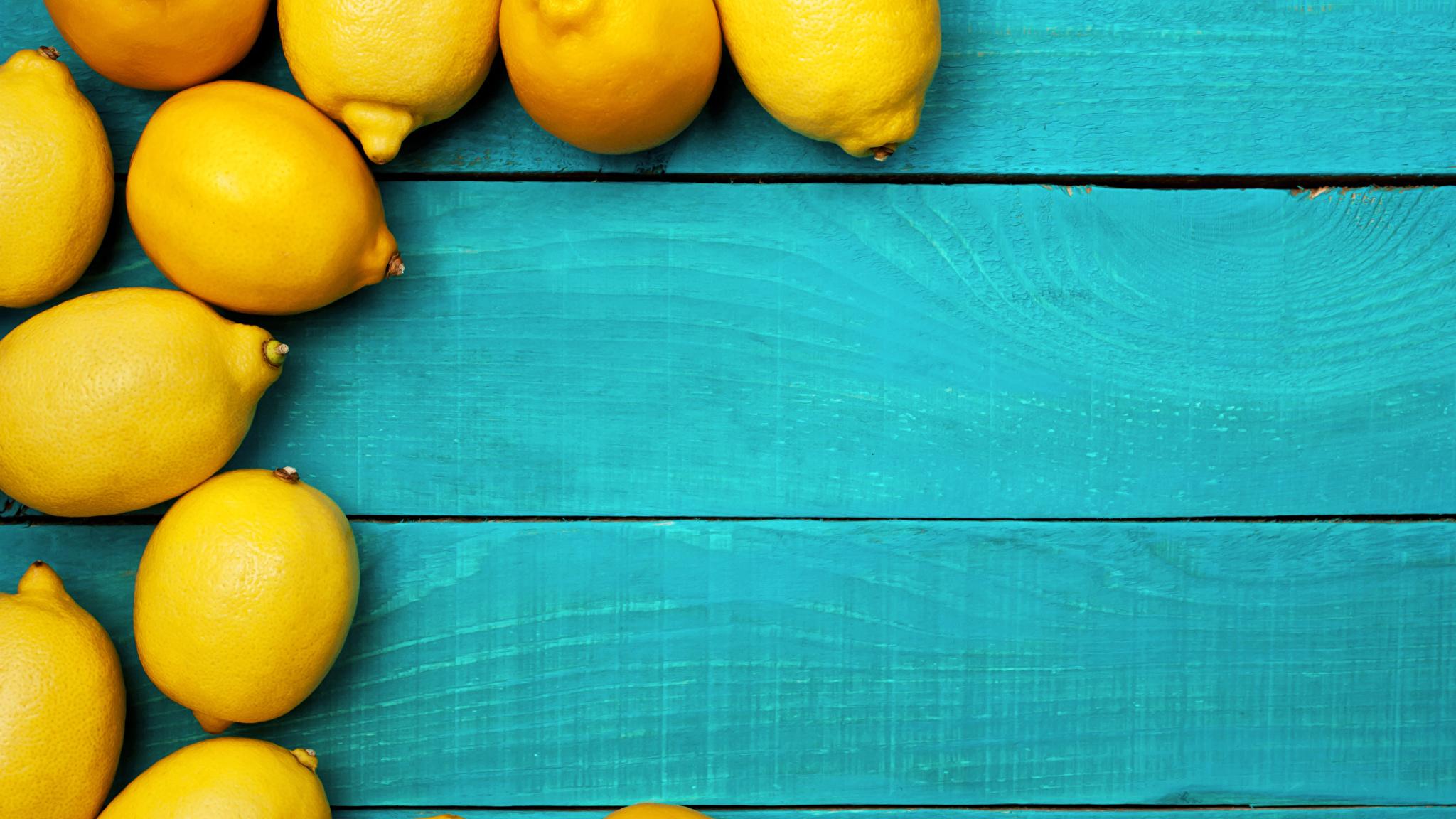 Foto Zitrone Lebensmittel Bretter 2048x1152