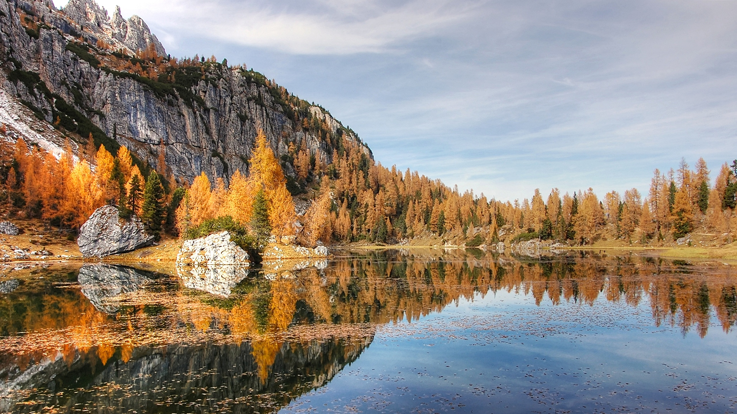 Desktop Wallpapers Alps Nature Autumn Mountain Lake Forest