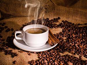 Picture Coffee Cinnamon Cup Grain Vapor