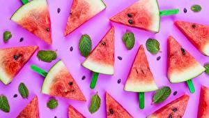 Fotos Wassermelonen Kreativ Stücke