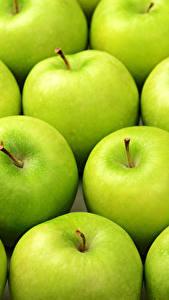 Bilder Textur Äpfel Grün das Essen