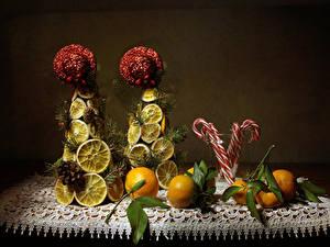 Hintergrundbilder Mandarine Zitrone Süßware Design