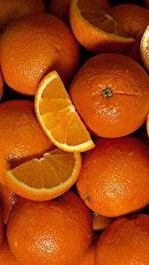 Fotos Textur Zitrusfrüchte Orange Frucht Viel Lebensmittel