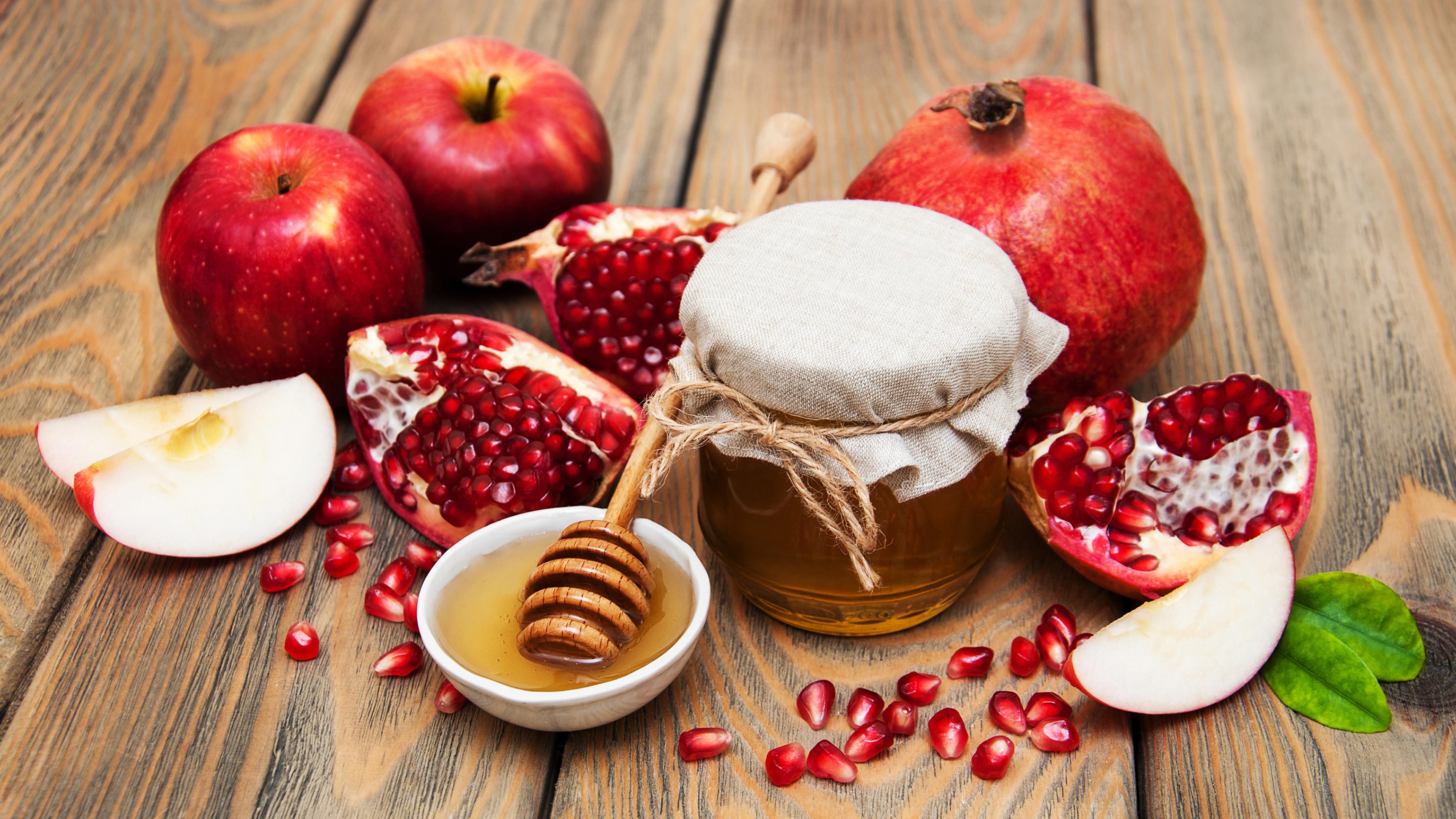 Мед и яблоки при похудении