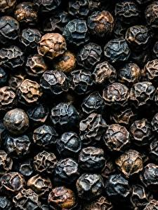 Fotos Textur Schwarzer Pfeffer Großansicht Lebensmittel