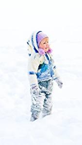 Hintergrundbilder Winter Schnee Kleine Mädchen Kinder