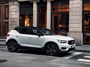 Bilder Volvo Weiß 2017-19 XC40 T5 R-Design Worldwide Autos