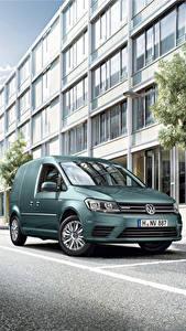 Image Volkswagen Green 2016 Caddy Kasten Trendline BlueMotion Edition TGI