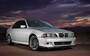 Pictures BMW Silver color E39 530i