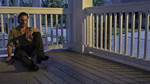 Bilder Mann Andrew Lincoln The Walking Dead Sitzend Rick Grimes Film Prominente