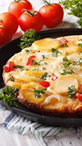 Hintergrundbilder Fast food Pizza Tomate