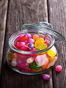 Hintergrundbilder Bonbon Dauerlutscher Bretter Weckglas Lebensmittel