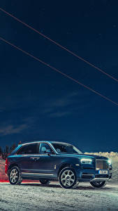 Fotos Rolls-Royce Blau 2018-19 Cullinan Autos