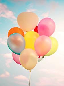 Fotos Himmel Luftballon