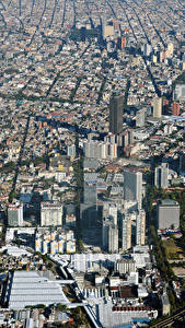 Wallpaper Mexico Building Megalopolis Mexico City Cities