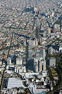 Fotos Mexiko Gebäude Megalopolis Mexico City Städte