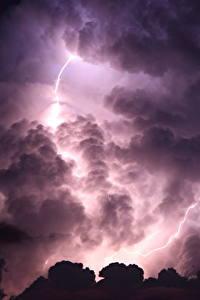Fotos Himmel Wolke Nacht Blitz