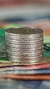 Bilder Geld Münze Geldscheine Euro Großansicht